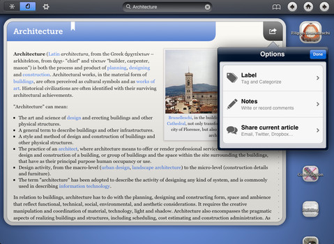 WikiNodes for iPad on the iTunes App Store