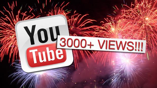 3000views