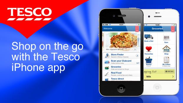 Tesco iPhone app