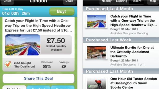 App Store   Groupon