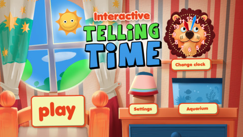 Interactive Telling Time   Learning to tell time is fun for iPhone  iPod touch and iPad on the iTunes App Store