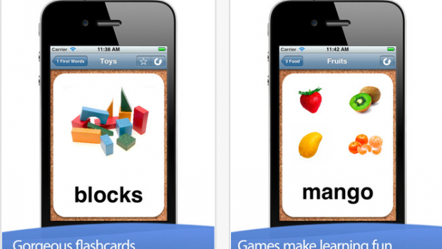 My First 1 000 Words   Flashcards and Games by Alligator Apps for iPhone  iPod touch  and iPad on the iTunes App Store Picture