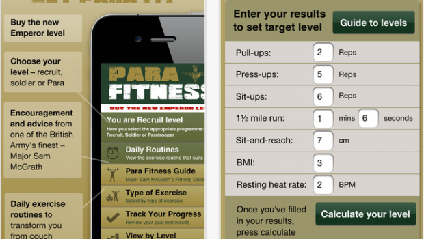 Para Fitness for iPhone  iPod touch and iPad on the iTunes App Store