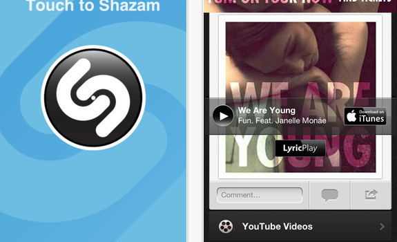 Shazam for iPhone  iPod touch and iPad on the iTunes App Store