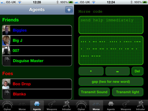 spy gizmos iphone app