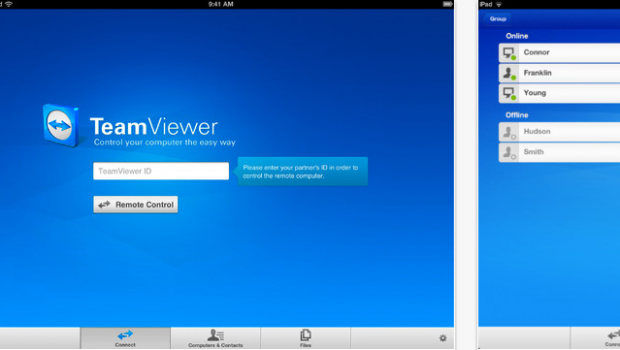 TeamViewer HD for Remote Control for iPad on the iTunes App Store