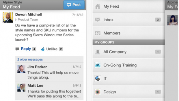 Yammer for iPhone  iPod touch and iPad on the iTunes App Store