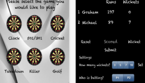 Dart Scoreboard for iPhone 3GS  iPhone 4  iPhone 4S  iPhone 5  iPod touch  3rd generation   iPod touch  4th generation   iPod touch  5th generation  and iPad on the iTunes App Store