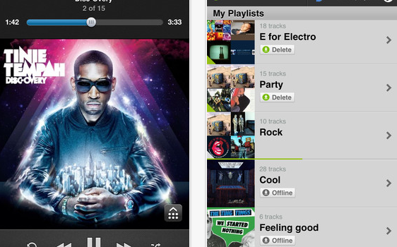 Deezer for iPhone  iPod touch and iPad on the iTunes App Store