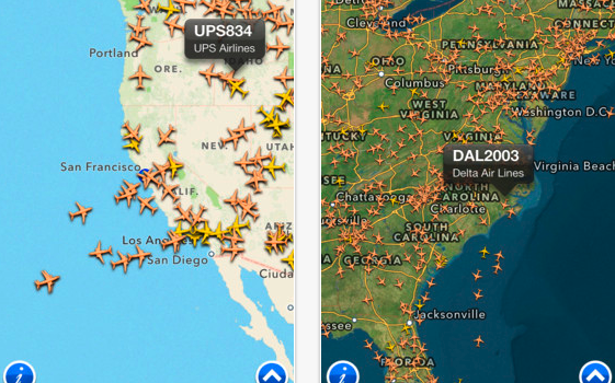 FlightRadar24 Free for iPhone  iPod touch and iPad on the iTunes App Store