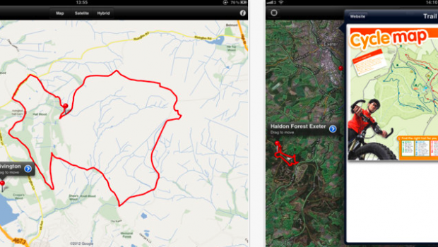 Mountain Bike Trails UK for iPhone  iPod touch and iPad on the iTunes App Store
