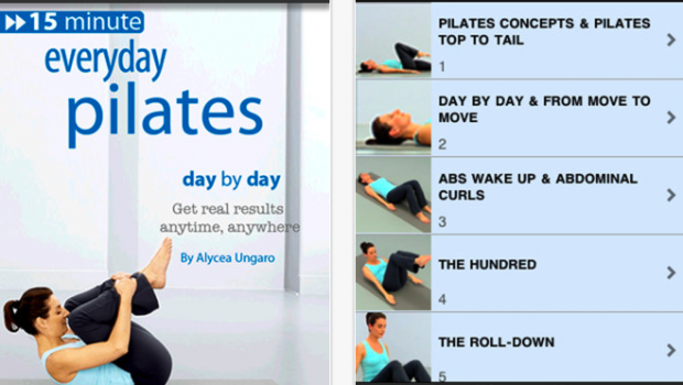 Pilates  Day by Day 15 Minute Workout for iPhone  iPod touch  and iPad on the iTunes App Store