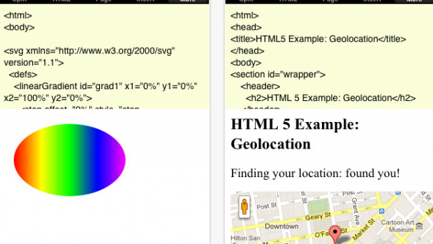 Nitro HTML Pro for iPhone  iPod touch  and iPad on the iTunes App Store