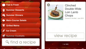 Epicurious Recipes   Shopping List for iPhone  iPod touch  and iPad on the iTunes App Store